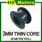 Cable Twin Core 3mm Wire - 30 Metre Roll - 4WD Caravan Truck Boat