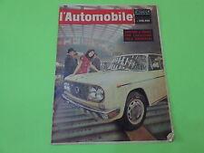 L'AUTOMOBILE ANNO XX N. 47 DEL 1964
