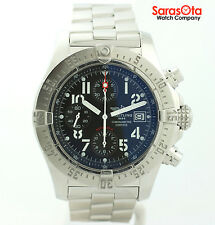 Breitling Avenger Skyland A13380 Chronograph Black Dial Automatic Men's Watch