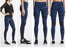 NIKE POWER EPIC LUX WOMEN RUNNING TIGHTS 799796 455 Sz Medium Yoga Pants Workout