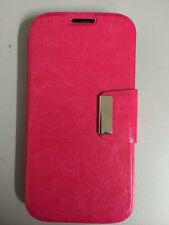 Funda Flip SONY XPERIA E C1605 tipo libro con cierre iman ROSA+PROTECTOR GRATIS