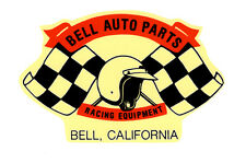 BELL AUTO PARTS RACING EQUIPMENT RACE HOT RAT ROD DECAL VINTAGE LOOK STICKER