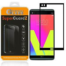 2X SuperGuardZ® Tempered Glass [FULL COVER] Screen Protector Shield For LG V20
