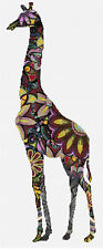 "Giraffe Compté Cross Stitch Kit 7 ""x 17"" 18ct Animaux / Insectes designs en fil"