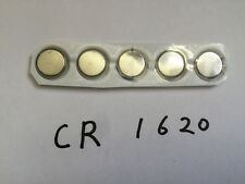 CR1620 DL1620 3V/70mAh Lithium Button Coin Battery for watches, calculator x5