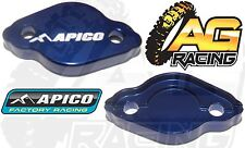 Apico Blue Rear Brake Master Cylinder Cover For Yamaha WR 250F 2003-2009 New