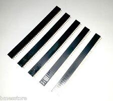 5 Pcs x 40 Pin Female Header Pin (Female Berg Strip) 0.1'' width for PCB Diy