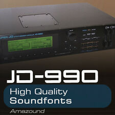ROLAND JD990 SOUNDFONT COLLECTION 240 SF2 FILES 1616 SAMPLES 3 DRUM KITS VALUE