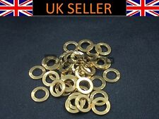 RacePro - 4x Titanium Washer GR5 - M4 x 9mm x 0.8mm - Gold