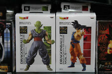 2PCS/Set Banpresto Dragon Ball Z HQ DX SCULTURES vol 5 goku & piccolo figure New
