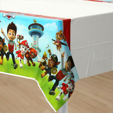 PAW PATROL PLASTIC TABLE COVER ~ Birthday Party Supplies Decorations Tablecloth
