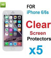 Para Nuevo iPhone 6/6S claro protector Funda Film Protector de pantalla 5 en 1 Pack