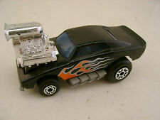 MATCHBOX SUPERFAST #26 BLACK COSMIC BLUES HEMI DODGE CHARGER FUNNYCAR NEW