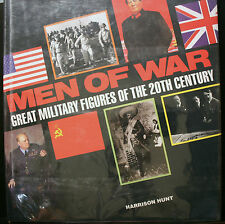 MEN OF WAR GREAT MILITARY FIGURES OF THE 20TH CENTURY, HUNT, LARGE COFFEE TABLE