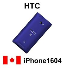 HTC Windows Phone 8X Zenith C625E Blue Battery Cover Back Housing Cover Door