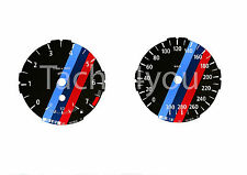 BMW Tachoscheiben für 1er E81 E82 E87 E88 Benziner 300 kmh km/h M1 Rot Nr 119