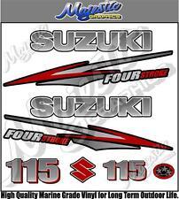 SUZUKI 115hp - FOURSTROKE - OUTBOARD DECALS