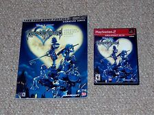 Kingdom Hearts Playstation 2 Complete Greatest Hits & Brady Strategy Guide PS2