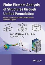 Finite Element Analysis of Structures by Unified Formulation by Marco...