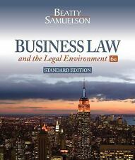 Business Law & the Legal Environment 6E Jeffrey Beatty 9781285024370 York Tech