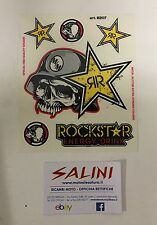 Adesivo Kit Metal Mulisha Rockstar Energy Drink Teschio simbolo stelle -Sticker