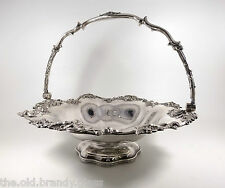 "Antiguo Plata Antigua Sheffield Placa"" ""cesta de pan (Waterhouse, Hatfield c1810)"