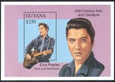 Guyana 1993 Elvis Presley/People/Music/Guitar/Song/Singing/Animation m/s n40880