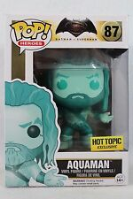 Funko Pop DC Hot Topic Exclusive AQUAMAN Vinyl Figure 87 Justice League