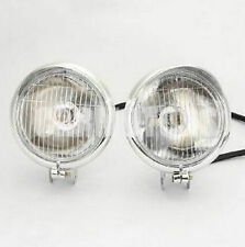Lamp bar Chrome Road king Front Spotlight Light mount Harley fog Halogen