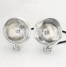 Lamp bar Chrome Road king Front Spotlight Light mount Harley fog Halogen