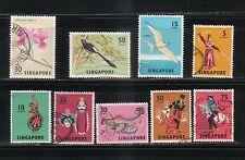 SINGAPORE 1963/68  SC 65/94 LOT #1