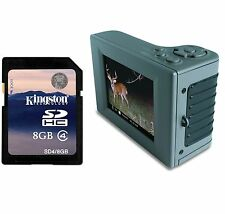 """MOULTRIE Hand Held Digital Picture Viewer 2.8"""" LCD Display USB/SD + 8GB SD Card"""