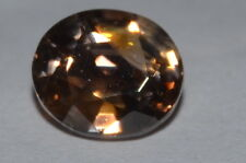 Gorgeous 1.28ct IF NATURAL OVAL CUT CAMBODIAN Honey Brown ZIRCON