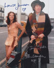 Tom Baker, John Leeson and Louise Jameson HAND Signed 8x10 Photo Autograph