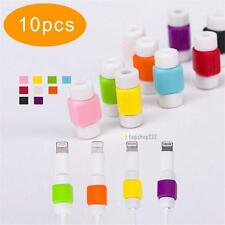 10 Lightning Charger Cable Saver Protector for Apple iPhone Protect Accessory TS
