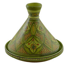 Moroccan Tagine Tajine Tangine Pot Large Ceramic Cooking Cookware Cooker Clay