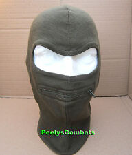Genuine MILITARY Surplus Olive Green Light Weight WINTER BALACLAVA