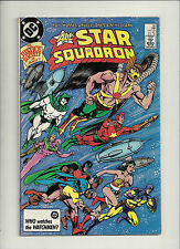 All Star Squadron  #60  VF+