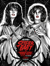 Spider Baby Poster - Mondo - Ghoulish Gary Pullin - Limited Edition of 125