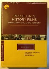 ROSSELLINI'S HISTORY FILMS Criterion Eclipse Series 14 - NEW SEALED DVDS!!