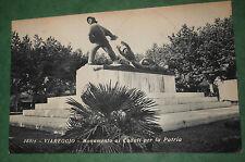 Cartolina Viareggio Monumento a Caduti 1933 X Annuale Poste Italiane CB743