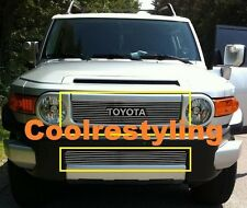 FOR 2007 2008 2009 2010 2011 2012 Toyota FJ Cruiser Billet Grille combo inserts