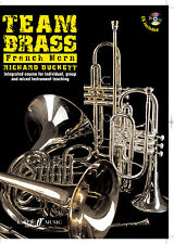 Team Brass French Horn Instrumental Solo Learn to Play FABER Music BOOK & CD
