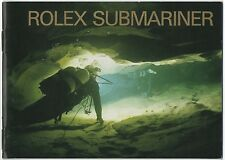 LIBRETTO ROLEX SUBMARINER 1999 16610 14060 16613 16618 16600 BROCHURE OEM