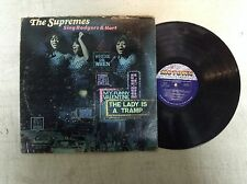The Supremes Sing Rodgers & Hart Vinyl LP Record Motown 659 1967 Diana Ross R19
