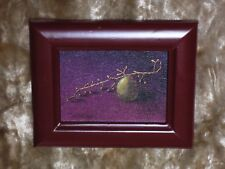 """Framed Giclee Miniature on canvas of """"The Last  Grape"""" oil painting"""