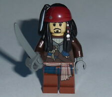 PIRATES OF THE CARIBBEAN Lego Jack VOODOO w/sword NEW Genuine Lego 30132 #12
