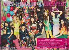 New SNSD Girls' Generation LOVE & PEACE Limited Edition CD DVD Booklet Japan