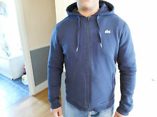 LACOSTE FULL ZIP HOODED SWEATSHIRT - NAVY - BNWT - SIZE 4 /M/