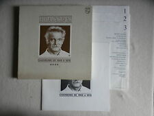 """COFFRET 3 LP GEORGES BRASSENS """"Chansons De 1961 à 1966"""" 66410958 FRANCE §"""